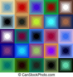 óptico, arte