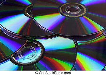 óptico, discos