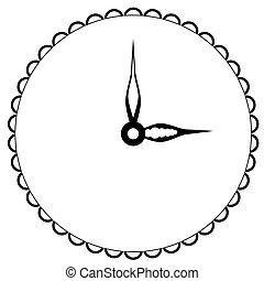 óra, szüret, ódivatú, background.graphic, feláll, ábra, elszigetelt, tervezés, háló, nyomtat, elem, áttetsző, gúnyol