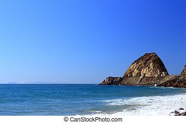 öar, kalifornien, mugu, kanalisera, peka