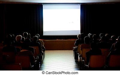 öffentlichkeit, in, a, klein, theater