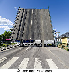Klappbrücke am Götakanal
