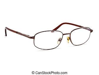 öga glasögon