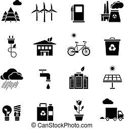 ökológia, ikonok, állhatatos