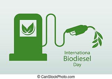 ökologie, hilfe, day.10, biodiesel, abbildung, umwelt,...