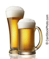 öl, två