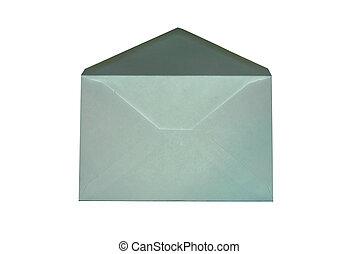 öppnat, kuvert