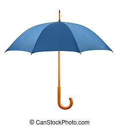 öppnat, paraply