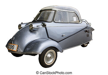 öreg, antik autó
