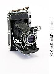 öreg, cameras, fénykép
