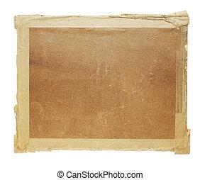 öreg, kartonpapír