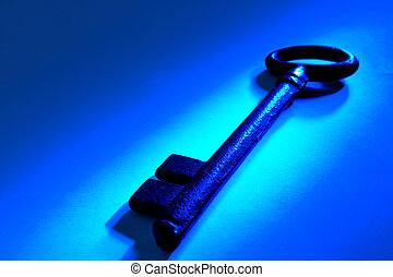 öreg, kulcs