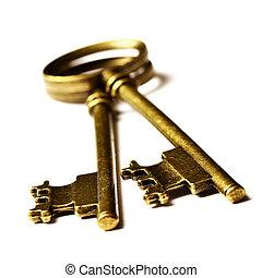 öreg, kulcsok
