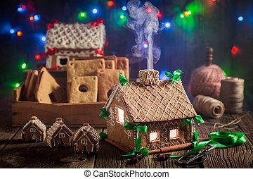 öreg, műhely, villaház, gyömbéres mézeskalács, imádnivaló, karácsony