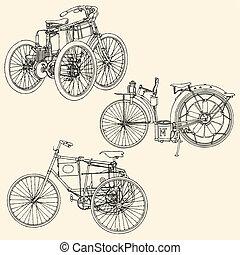 öreg, motocycle