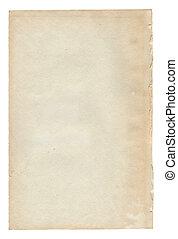 öreg, szöveg, dolgozat, texture.antique, háttér, fehér, felcsavar