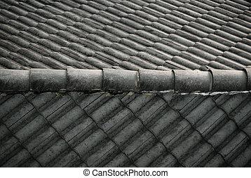 öreg, tető