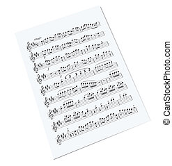 öreg, zene híres, ív