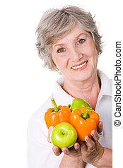 öregedő, női