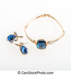 örhängen, armband, smycken, dyrt