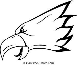 örn, huvud, symbol