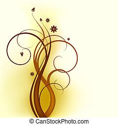 örvény, barna, tervezés