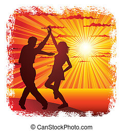 összekapcsol táncol