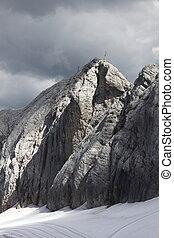 österreich, berge, panorama