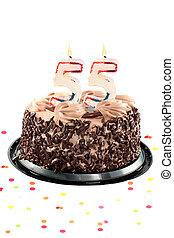 ötven, 5 születésnap, vagy, évforduló