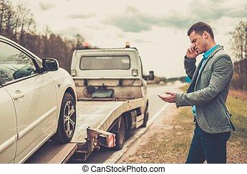 övé, kóc, autó, feláll, hívás, törött, időz, csereüzlet,...
