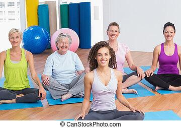 öva, gymnastiksal lärare, yoga kategori