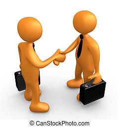 överenskommelse, affär