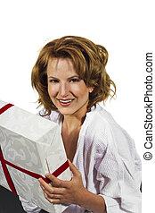 överraskning, gåva