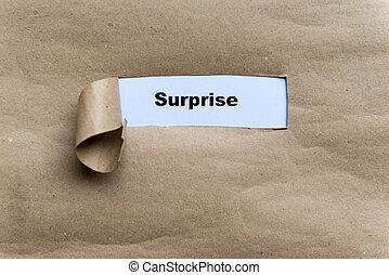 överraskning