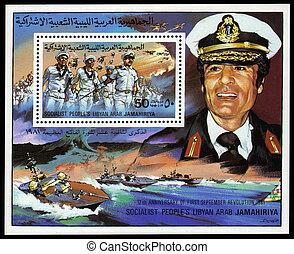 överste, gaddafi, muammar