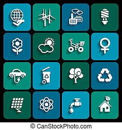 økologi, iconerne