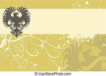 ørn, heraldiske, arms3, belægge
