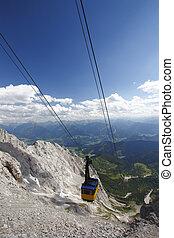 østrig, bjerge, panorama