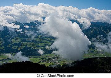 østrig, bjerge