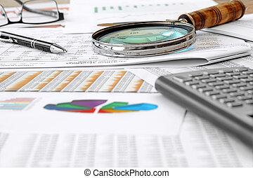 účetnictví, deska