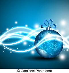 újév, és, karácsony, ünnepek