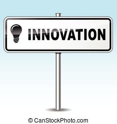 újítás, aláír