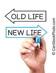 új élet, vagy, öreg, élet