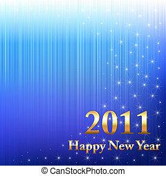új, boldog, 2011, év