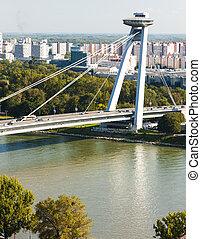 új, bridzs, bratislava, slovakia