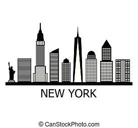 új, láthatár, york