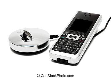 új, modern, telefon