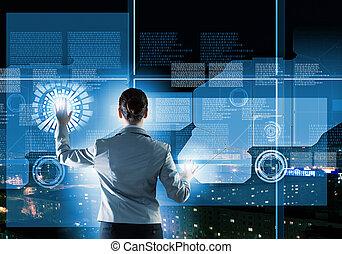 új, technologies