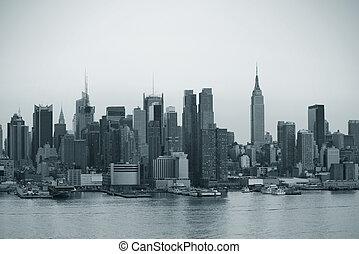 új, Város,  Manhattan,  York