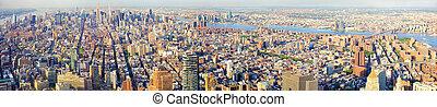 új, Város,  York,  panoráma